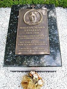 mileva mari� wikipedia the free encyclopedia