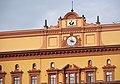 Здание ОГПУ-НКВД-КГБ СССР, верхняя часть здания с часами.jpg