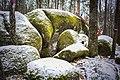 Кам'яне Село, камінь що містить слід Бога.jpg