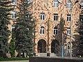 Кировакан, Центральная площадь. Здание мэрии - panoramio.jpg