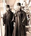 Монах Василий (Кривошеин) и иеродиакон Софроний (Сахаров). 1933.jpg