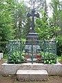 Надгробный памятник на могиле настоятеля Валаамского монастыря игумена Пафнутия.jpg