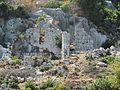 Развалины разрушенного землетрясением во II веке н. э. античного города Долихисте. Кекова. Турция. Июнь 2011 - panoramio.jpg