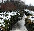 Ручей вдоль железной дороги. Creek along the railway. - panoramio.jpg