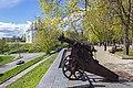 Старовинна гармата Чернігівський Дитинець Квітень 2017 Фото-1.jpg