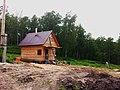 Строящийся дом в поселке УНИВЕРСИТЕТСКИЙ рядом с Академгородком Новосибирска 10.jpg