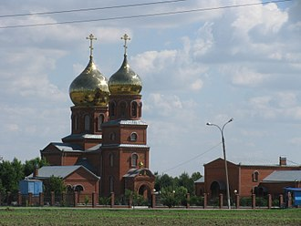 Slavyansky District - Church of St. Panteleimon, Slavyansky District