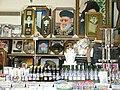 דוכן למכירת חפצי קדושה בקבר ר' מאיר בעל הנס.JPG