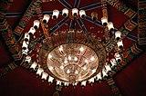 এ .ই. ব্লক পার্ট -২ সল্টলেক দূর্গা পুজো ২০১৮ - মণ্ডপের ঝাড়লণ্ঠন.jpg