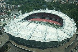 Hongkou Football Stadium - Image: 上海虹口足球场全貌
