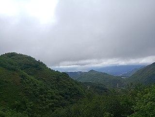 Mengga Township in Yunnan, China
