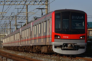 Tobu 70000 series Japanese electric multiple unit train type