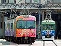 浜大津で顔をあわせた「ちはやふる(初代)」と「機関車トーマス2015」.jpg