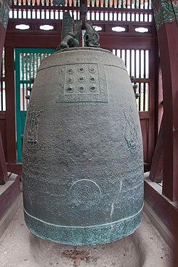 龙珠寺铜钟