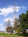 -2011-09-22 Communication masts on the Gas Terminal, Bacton, Norfolk.jpg