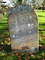 -2019-11-30 Headstone of William Dewing & his daughter Mary Green, Trimingham churchyard.JPG
