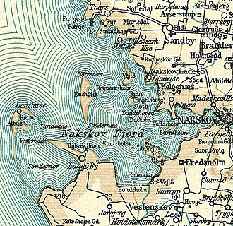 Nakskov Fjord - Nakskov Fjord around 1900
