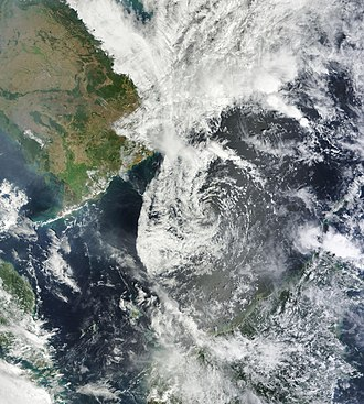 2012 Pacific typhoon season - Image: 01 W Feb 20 2012 0310Z