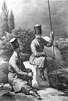 Азовский и таганрогский казаки в 1774 году