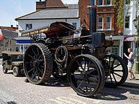 08.05.2016 Steam traction engine Horsham West Sussex England.jpg
