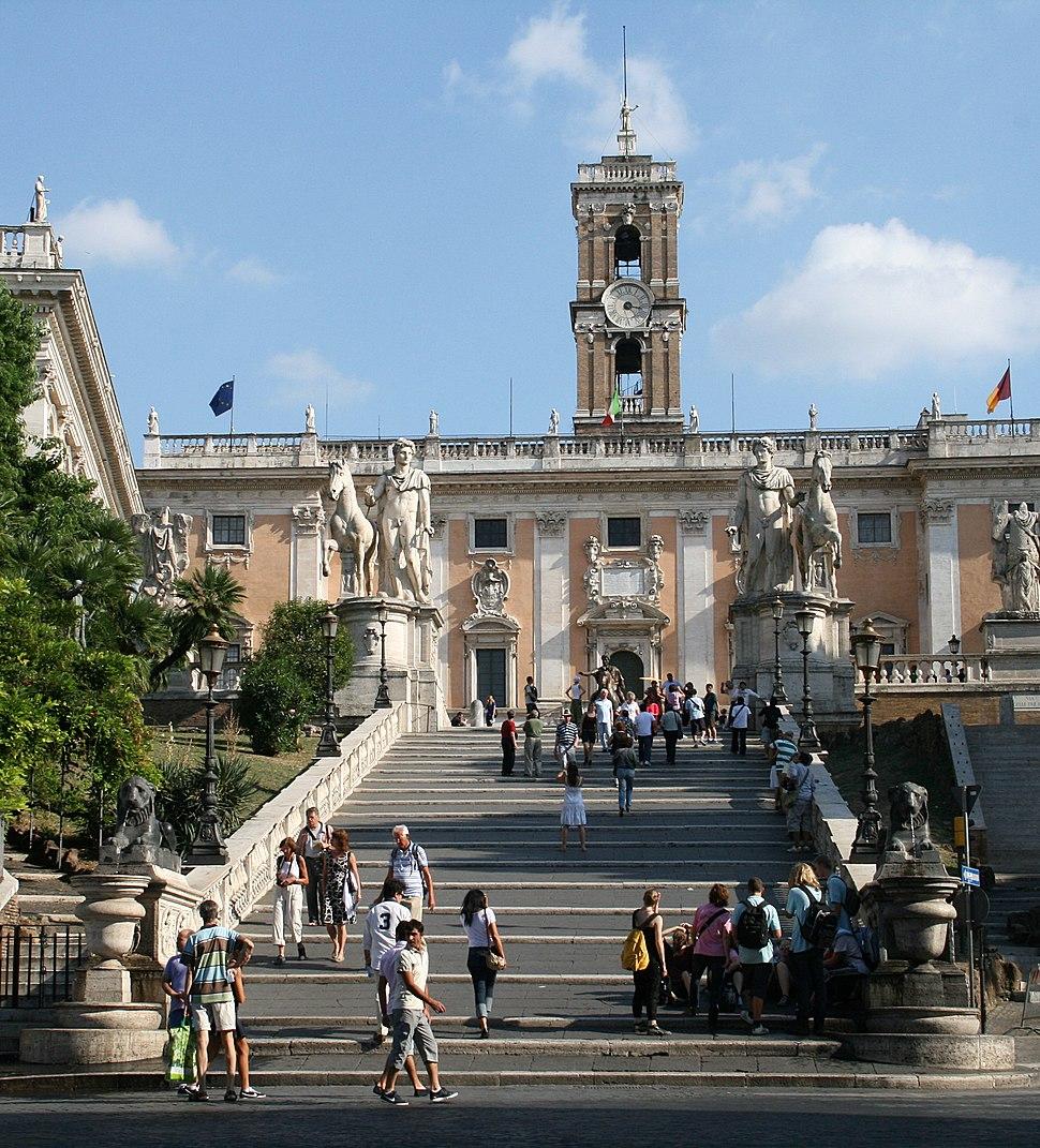 0 Cordonata - Dioscuri - Palazzo Senatorio (2)