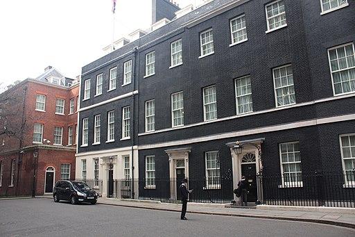 10 Downing Street turf war