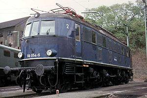 DRG Class E 18 - Image: 118 054