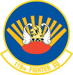 119th Fighter Squadron - Image: 119th Fighter Squadron emblem