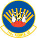 119th Fighter Squadron emblem