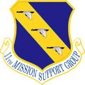 11 Mission Support Gp emblem.png