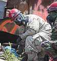 11th Engineer Battalion Soldiers train to evacuate survivors of a nuclear blast 140724-A-PC120-041.jpg
