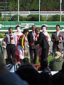 147th Tennosho spring (19 Ceremony 05 Ebizo Ichikawa and Masayoshi Ebina 01) IMG 2657 20130428.JPG