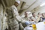 15th MEU Marines and Sailors celebrate October birthdays 151029-M-GC438-024.jpg