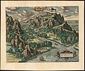 1603 Ortelius View of The Paradise of Tempe at the foot of Mount Olympus.jpg