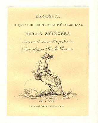 Bartolomeo Pinelli - Image: 16costumi