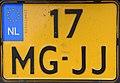 17-MG-JJ motorcycle license plate of the Netherlands.jpg