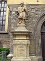 176 Sant Enric i Santa Cunegunda, estàtua de sant Joan Nepomucè.jpg