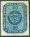 1860 20c Confed Granadina blue unused Sc12.jpg