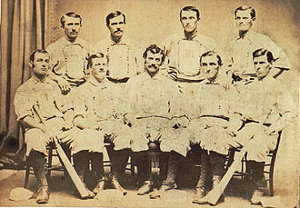 New York Mutuals - 1870 New York Mutuals team photograph