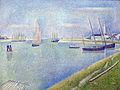 1890 Seurat Kanal von Gravelines anagoria.JPG