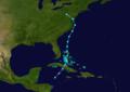 1893 Atlantic tropical storm 11 track.png