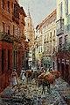 1906, Northern Spain, pp. 204-205, Toledo. Calle del Comercio.jpg