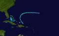 1906 Atlantic tropical storm 10 track.png