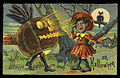 1910 Halloween card with African American girl.jpg