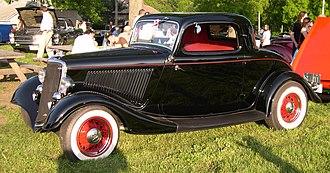 Coupé - 1934 Ford coupé