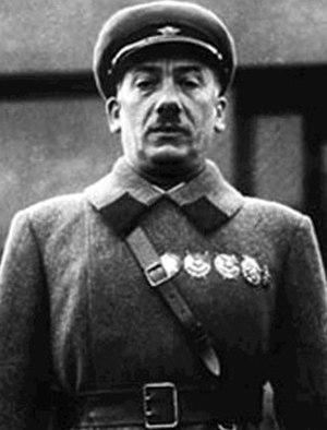 Genrikh Yagoda - Genrikh Grigoryevich Yagoda at the podium in 1936