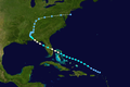 1939 Atlantic hurricane 2 track.png