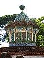 193 Pavellons de la finca Güell, av. de Pedralbes 15 (Barcelona), templet.jpg