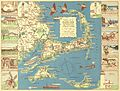 1940 Colonial Craftsman Decorative Map of Cape Cod, Massachusetts - Geographicus - CapeCod-colonial-1940.jpg