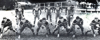 Doc Blanchard - The 1941 Saint Stanislaus College prep school Gulf Coast championship Team. Doc Blanchard is No. 61.